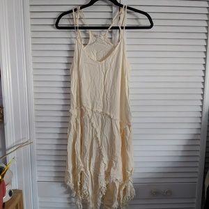 NWOT free people tattered slip dress